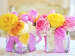 Vases and Lovely Flowers