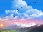 ~*~ Sun Raise At The Montain ~*~