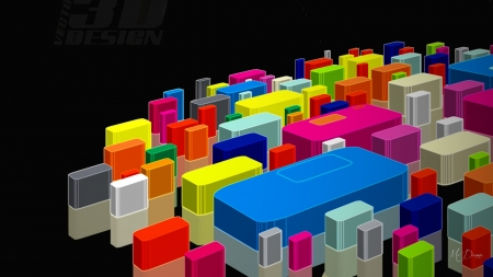 Building Blocks of Color - bright, colors, blocks, play, lego, Firefox Persona theme