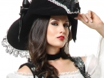 'Ladie's pirate hat....for Karyn'.......
