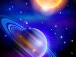 Rings Sun and Stars