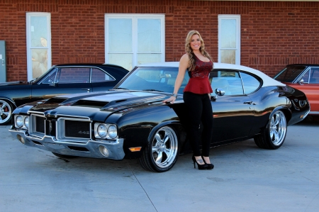 1971 Oldsmobile 442 Girls And Cars Amp Cars Background