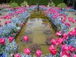 Butchard Gardens in Spring