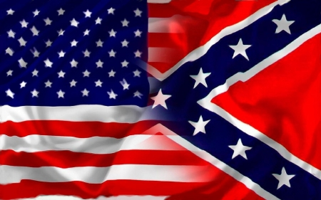 U.S. & Dixie Heritage - holidays, dixie, freedom, America, fun, south, flags, heritage, Independence Day, July 4th, rebel, political