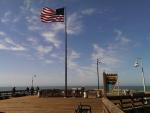 Old Glory on the Ventura Pier
