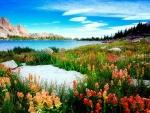 Amethyst lake-Utah