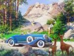 Duesenberg Car - 1936