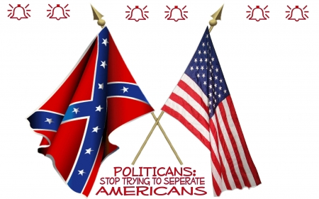 Inseparable - holidays, flags, dixie, people, freedom, america, history, political