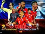 CHILE CHAMPIONS COPA AMERICA 2015