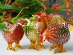 Cute hens