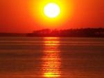Beautiful Sunlight Reflection in water