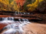 Archangel Falls, Zion National Park