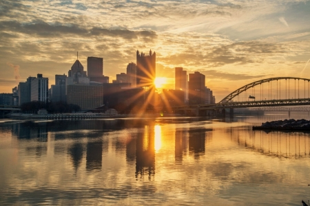 39 sunrise in pittsburgh pa 39 3d and cg abstract background wallpapers on desktop nexus. Black Bedroom Furniture Sets. Home Design Ideas