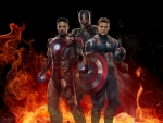 Iron Man - Ultron And Captain America