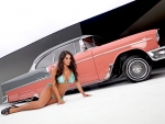 Chantel Zales - 1955 Chevrolet Bel Air