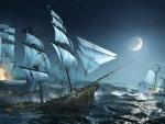'Sea battle'.....