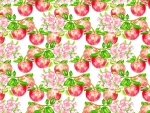 Apple ~ flower and fruit pattern