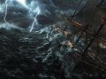 'Raging sea....sinking ship'....