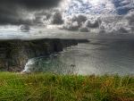 Gorgeous scape wild land-sea