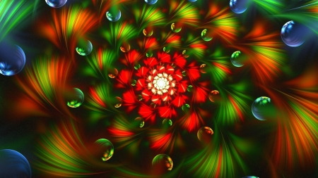 3d Fractals - fractals, colorful, art, didital