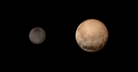 New Horizons Passes Pluto and Charon - fun, asteroid, cool, planet, space, pluto