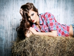 Cowgirl Resting