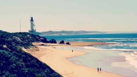 Ocean Grove Lighthouse - Beaches & Nature Background
