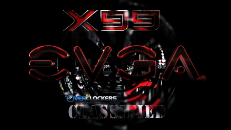 EVGA X99 Classified motherboard - overclockers, 07, 17, evga x99, 2015, picture