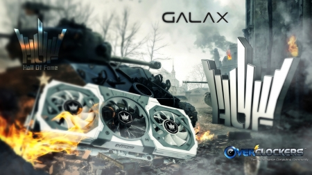 GALAXY Geforce GTX980 Hall of Fame - picture, 2015, 07, 17, hall of fame, galaxy, gtx980