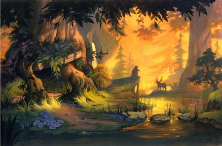 Brother Bear 3d And Cg Abstract Background Wallpapers On