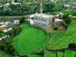 Green Mountains in Yemen
