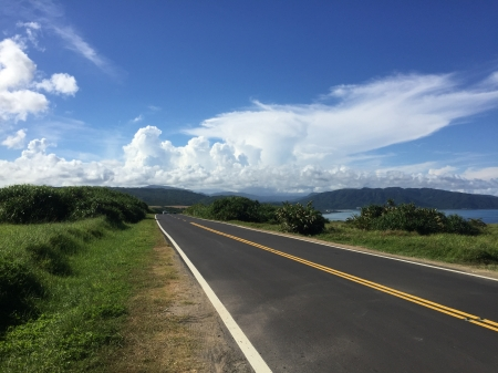 Straight road to paradise - taiwan, paradise, kenting, road