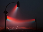 Traffic Lights Fog