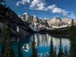 Maligne Lake, Jasper Nat'l. Park, Alberta