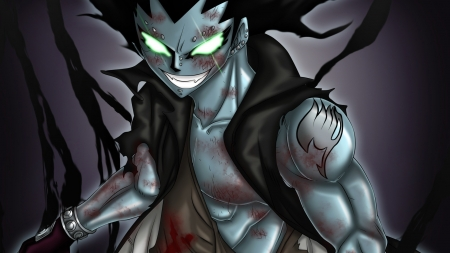 Gajeel - gajeel, dragon slayer, anime, Fairy tail