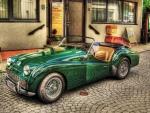 Vintage Triumph Spitfire