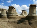 Hoodoos of Drumheller, Alberta