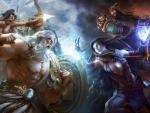 Gods fight