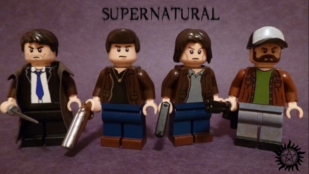 Supernatural Lego - cute, tv show, supernatural, lego