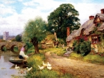 Old English Cottage