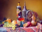 ✿⊱•╮Wine and Fruits╭•⊰✿