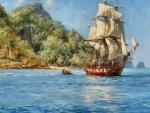 Sailboat Painting F