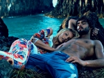 Candice Swanepoel and Marlon Teixeira