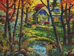 Cottage at Fall