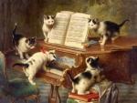 Kittens & Piano