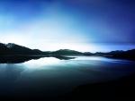 Dark Lake View