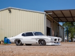 Street Outlaw's Justin Shearer and his 1972 Pontiac LeMans