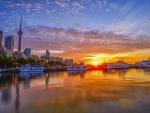 A City Sunset