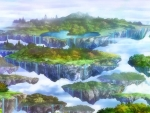 Anime Flying Islands