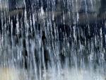 Pauring rain